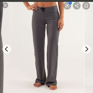 Lululemon Relaxed Fit Pant Solid Grey